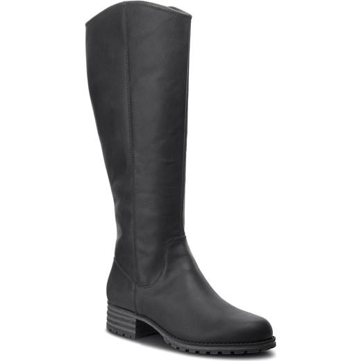 f392319ea3e4e Oficerki CLARKS - Marana Trudy 261372284 Black Leather Clarks 42 eobuwie.pl