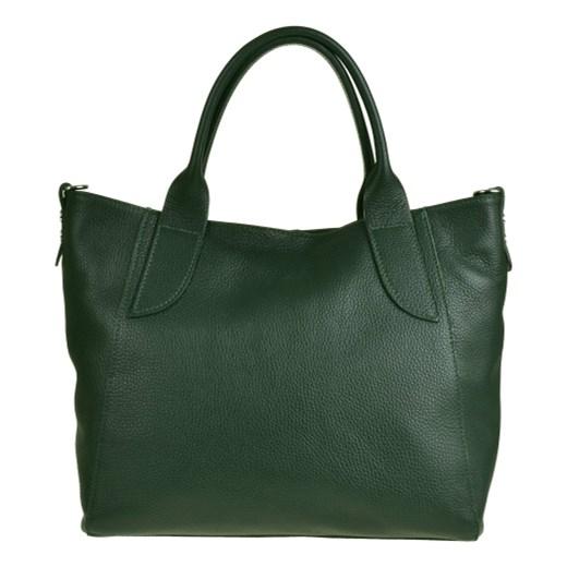 a257dfbcf153f Shopper bag Borse In Pelle szara casual duża bez dodatków matowa w ...