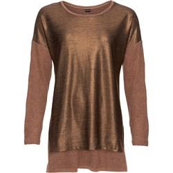 b8f857640af6 Brązowe bluzki na imprezę damskie bodyflirt