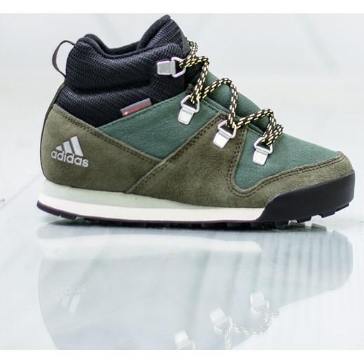 tani Buty sportowe dziecięce Adidas zielone Buty Dziecięce
