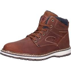 d7c99c700a7e0 Dockers buty zimowe męskie brązowe skórzane