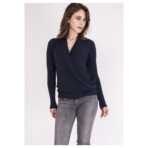 0be96dc35e77d5 Mkm Knitwear Design sweter damski gładki/gładka w Domodi