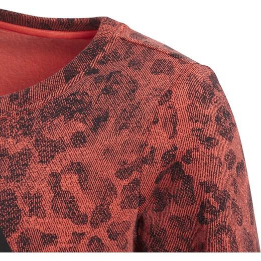 Bluza sportowa czerwona bawełniana