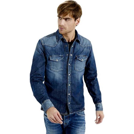 Koszula męska Pepe jeans jeansowa w Domodi  oBCaE