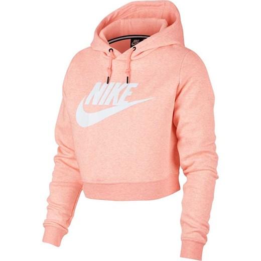 zegarek ekskluzywne oferty najlepsza wartość Bluza damska Nike różowa z napisami