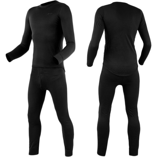 e9273481b6f0e4 Bielizna termoaktywna Garsing RipStop Fleece Black - komplet (1569485) N  Garsing XS Militaria.