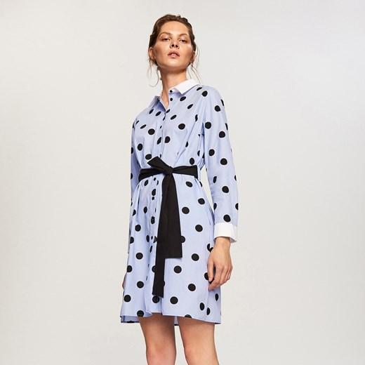 5ae389d846 Reserved - Sukienka w kropki Wielobarwn w Domodi