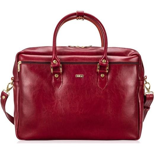 41b151e188358 Torba na laptopa Felice czerwona w Domodi
