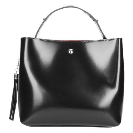 e1779c80 Shopper bag Wojas ze skóry bez dodatków w Domodi