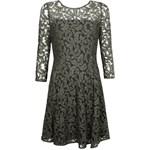 75a1f6ca38 Włoska sukienka letnia marki Iconique IC8011 Black czarny szary ...