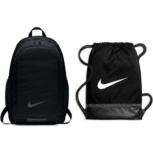 28f0aad3b748d Zestaw plecak Academy + worek Brasilia Training Nike (czarny) okazja  SPORT-SHOP.