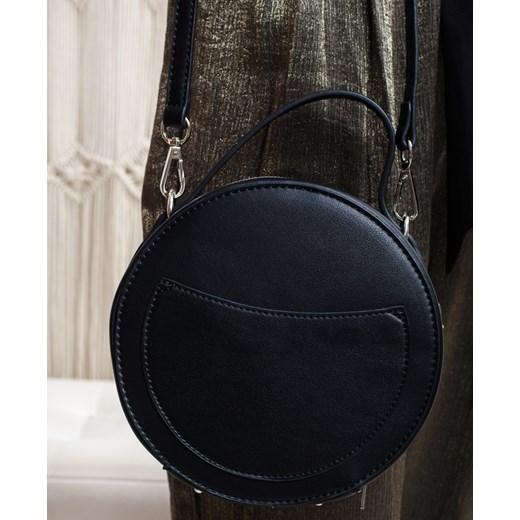 7ba318cdba7f5 Mała okrągła torebka kratka Paris One Size MadamRock ...