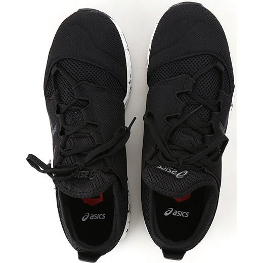 671a51f6f379c4 Buty sportowe męskie Asics czarne jesienne sznurowane w Domodi
