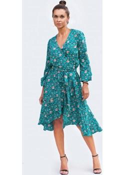 Wiskozowa sukienka w kwiaty Fenderr   - kod rabatowy