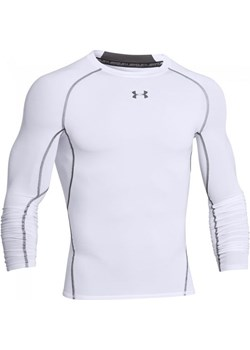 Koszulka męska kompresyjna Armour HG LS COMP Under Armour (biała) Under Armour  okazyjna cena SPORT-SHOP.pl  - kod rabatowy