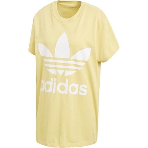 60% ZNIŻKI Bluza damska biała Adidas Originals z bawełny