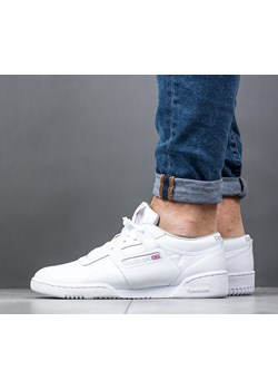 Buty męskie sneakersy Reebok Workout Low CN0636 - BIAŁY  Reebok Classic sneakerstudio.pl - kod rabatowy
