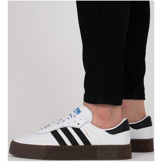 Buty damskie sneakersy adidas Originals Sambarose W AQ1134 BIAŁY sneakerstudio.pl