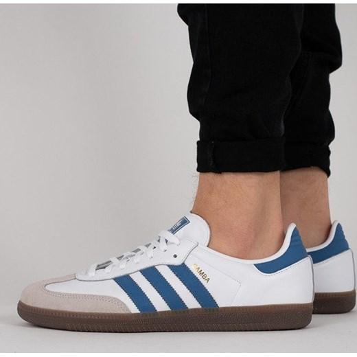 37b08d05c45eb Buty męskie sneakersy adidas Originals Samba OG B44629 - BIAŁY szary  sneakerstudio.pl