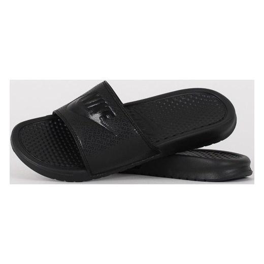 sports shoes 4d961 43bc7 Klapki Nike Benassi JDI 343880 001 - CZARNY sneakerstudio.pl