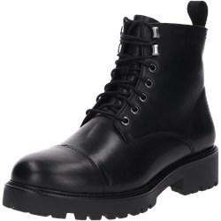 a455e485d90b6 Workery damskie Vagabond Shoemakers bez wzorów casualowe czarne wiązane  skórzane jesienne
