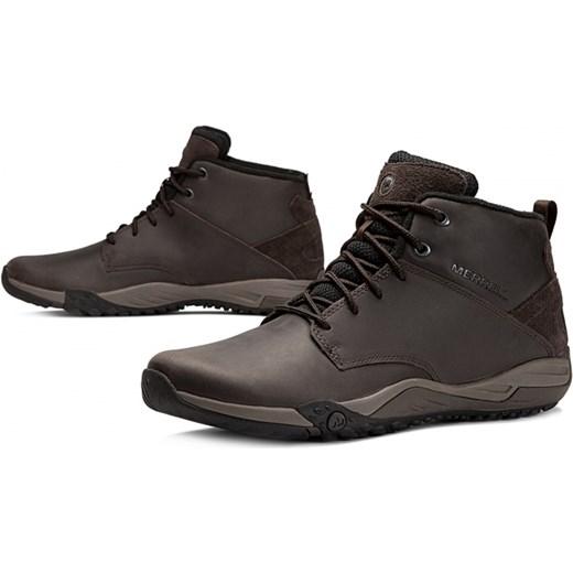 Buty zimowe męskie Merrell sznurowane