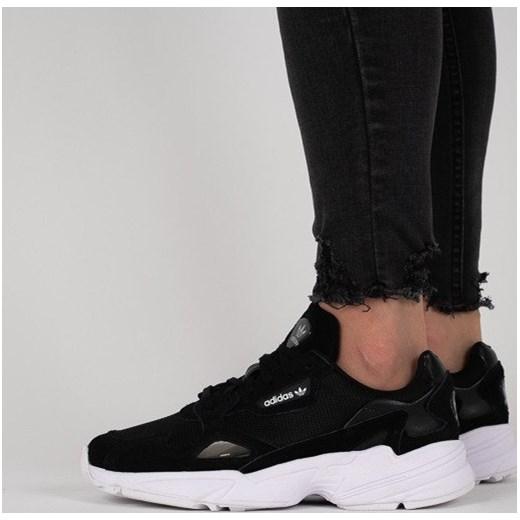 renomowana strona Nowy Jork taniej Buty damskie sneakersy adidas Originals Falcon B28129 - CZARNY  sneakerstudio.pl