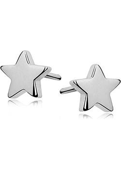 Srebrne drobne kolczyki gwiazdki   Dauer - kod rabatowy
