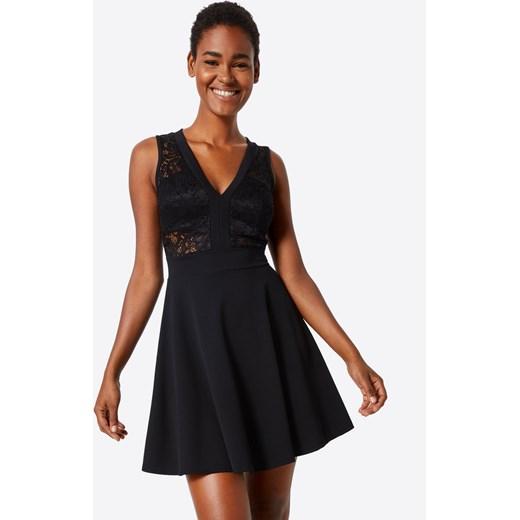 9712576fcf Sukienka koktajlowa  Black Lace Skater  Wal G. czarny AboutYou w Domodi