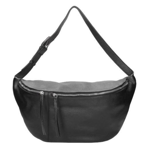 e51010e1 Wojas shopper bag casual czarna skórzana w Domodi