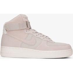 Buty sportowe męskie szare Nike air force młodzieżowe wiązane