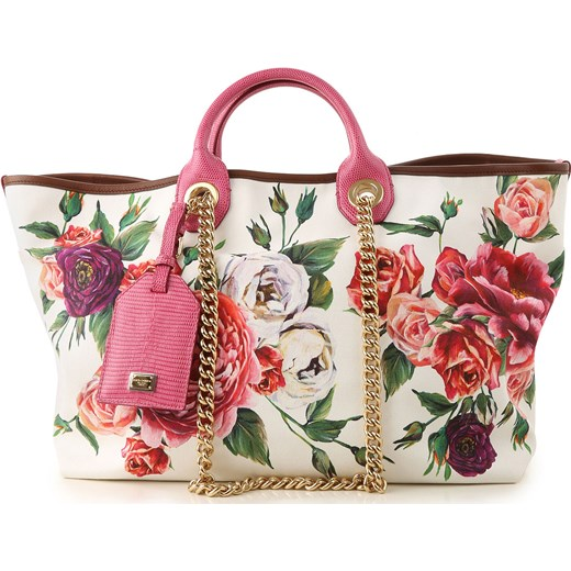 dc7b5baf722ba Shopper bag Dolce & Gabbana skórzana w Domodi