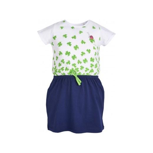 5df2d581359c5d Sukienka z krótkim rękawem dla dziewczynki 9-13 lat Endo endo.pl w ...
