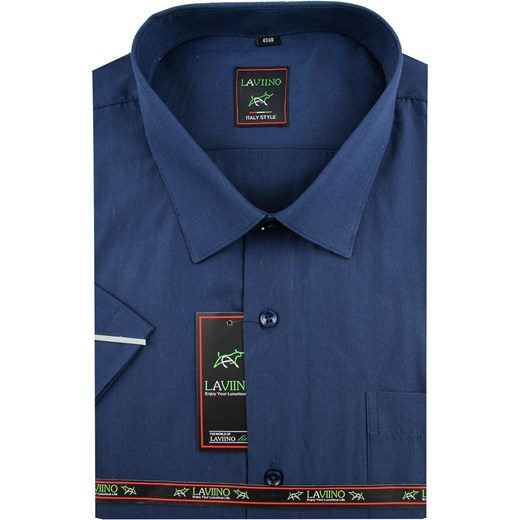 Koszula męska Laviino z klasycznym kołnierzykiem elegancka  qRb4v