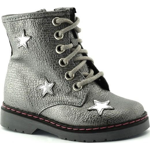 c04f79049e25a Dziecięce buty zimowe Kornecki 06216 szary Kornecki 21 Sklep Dorotka ...