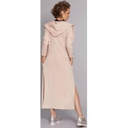 498a2a9c4154 Madnezz płaszcz damski beżowy
