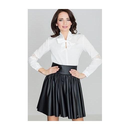 Spódnica Lenitif z tkaniny mini Odzież Damska GY czarny Spódnice EXZM piękny