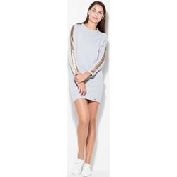 f379642a356b7b Sukienki dresowe katrus, lato 2019 w Domodi