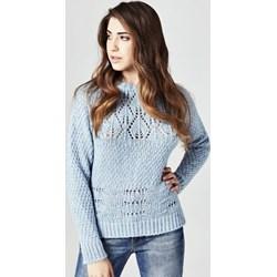 d5b0973922002 Sweter damski niebieski Guess