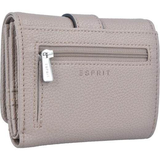 f0946c45d76de Esprit portfel damski bez wzorów elegancki  Portfel damski Esprit bez wzorów  różowy  Portfel damski Esprit ...
