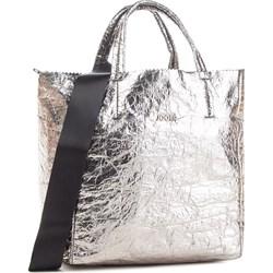 01e20ff47fd41 Srebrne torby na zakupy shopper bag eobuwie.pl