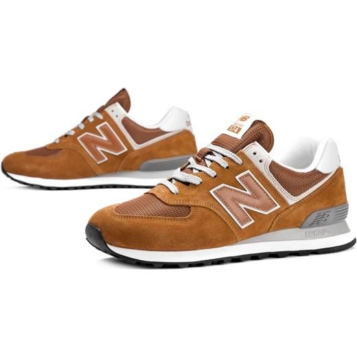 Buty sportowe męskie New Balance new 575 na lato z gumy sznurowane
