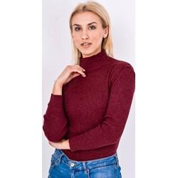 ce3d456a56 Sweter damski Zoio bez wzorów z golfem