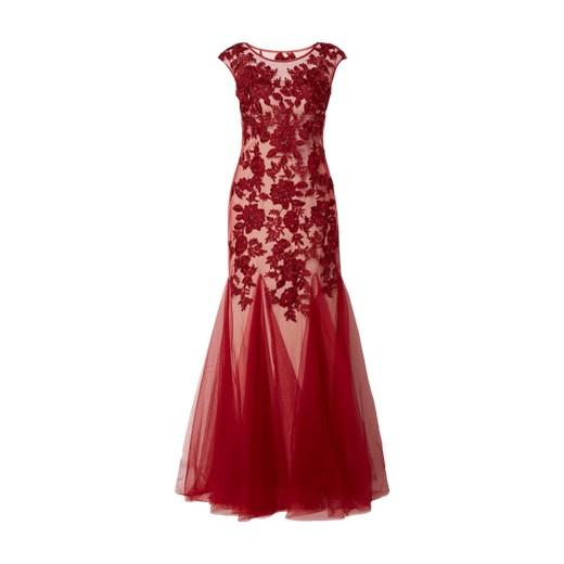 4197e11ecb Sukienka Mascara czerwona glamour maxi w Domodi