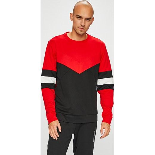 506c81c240c59 ... Bluza męska Calvin Klein Performance w paski z bawełny casualowa ...