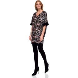 abc453aa9c Sukienka Nissa prosta z długimi rękawami