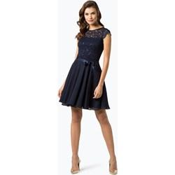 dd4c939543 Sukienka Swing rozkloszowana z okrągłym dekoltem mini