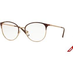 0a8011ec965b Złote okulary korekcyjne damskie vogue