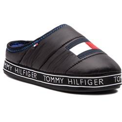 21791100d59e6 Kapcie męskie Tommy Hilfiger brązowe z tworzywa sztucznego ...