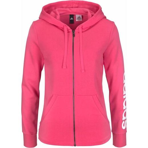 Różowa bluza sportowa Adidas Performance